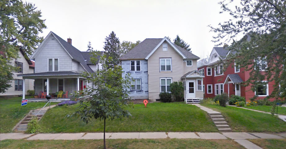 Peter Stoltz died in this house at 1936 Carroll Ave., Saint Paul.