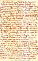 Family history written by Jesus (García) Alvarado, Page 1