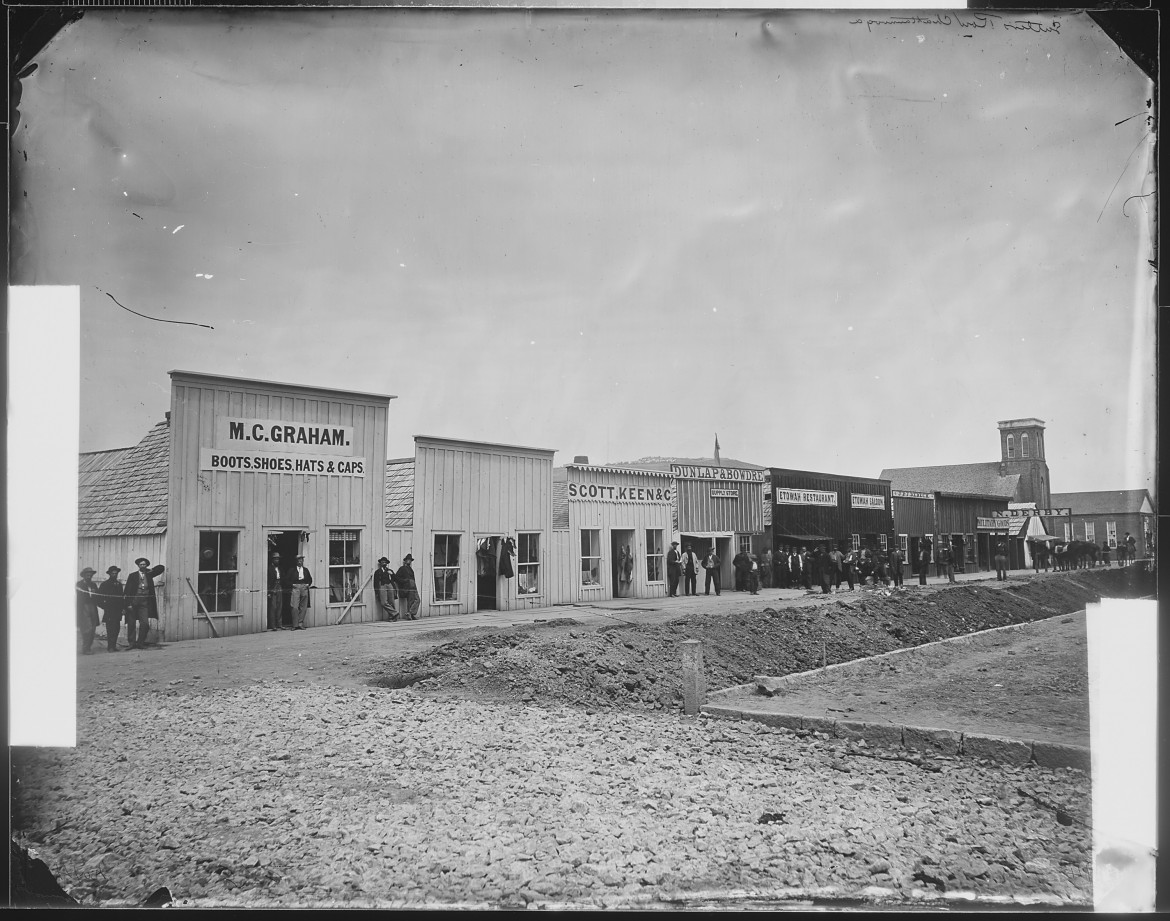 Sutler's Row, Chattanooga,_c. 1864