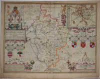 Map of Bedfordshire, 1646