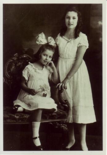 Cecilia (1909-2008) and Lucia (1903-2001)