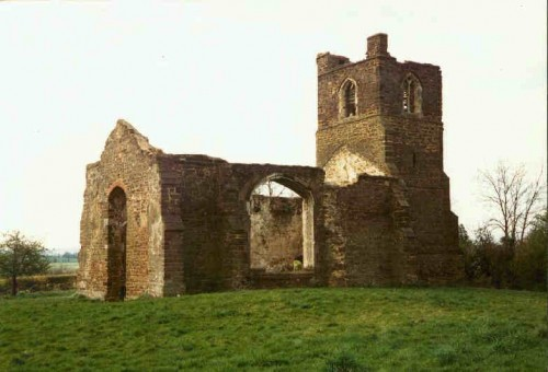 Ruins of St. Mary's Church, Clophill, Bedfordshire