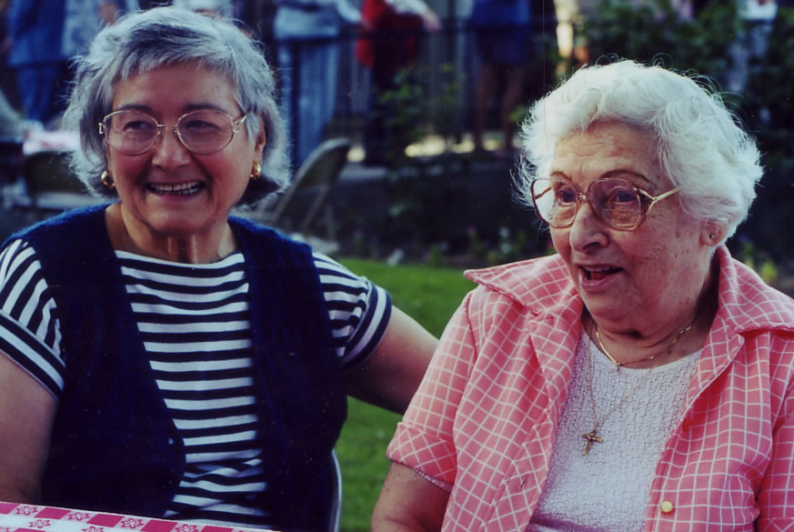 Gloria and Cecilia Hernandez