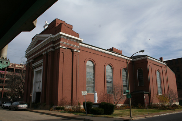 St. Mary of Victories Church, St. Louis