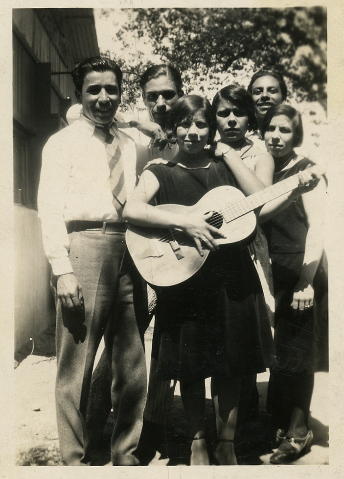 Maybelle's Knighthawks, led by Maybelle Stoltz, believed to be the first band in El Paso led by a woman.