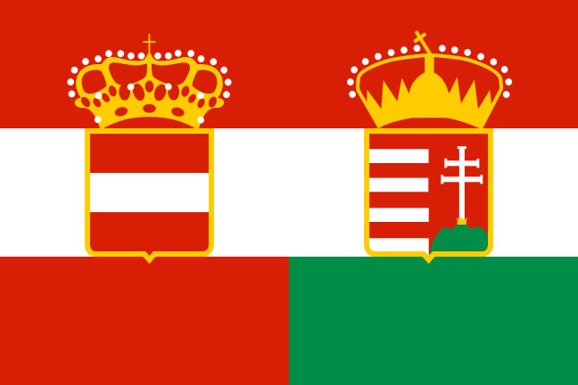 Flag of the Austro-Hungarian Empire