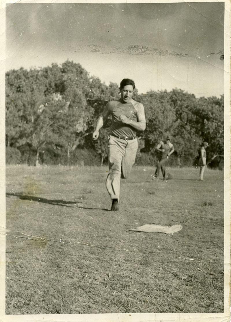 Alfred Stoltz, 1945