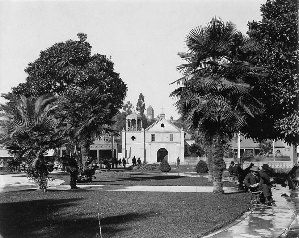 Plaza, Los Angeles, ca. 1900