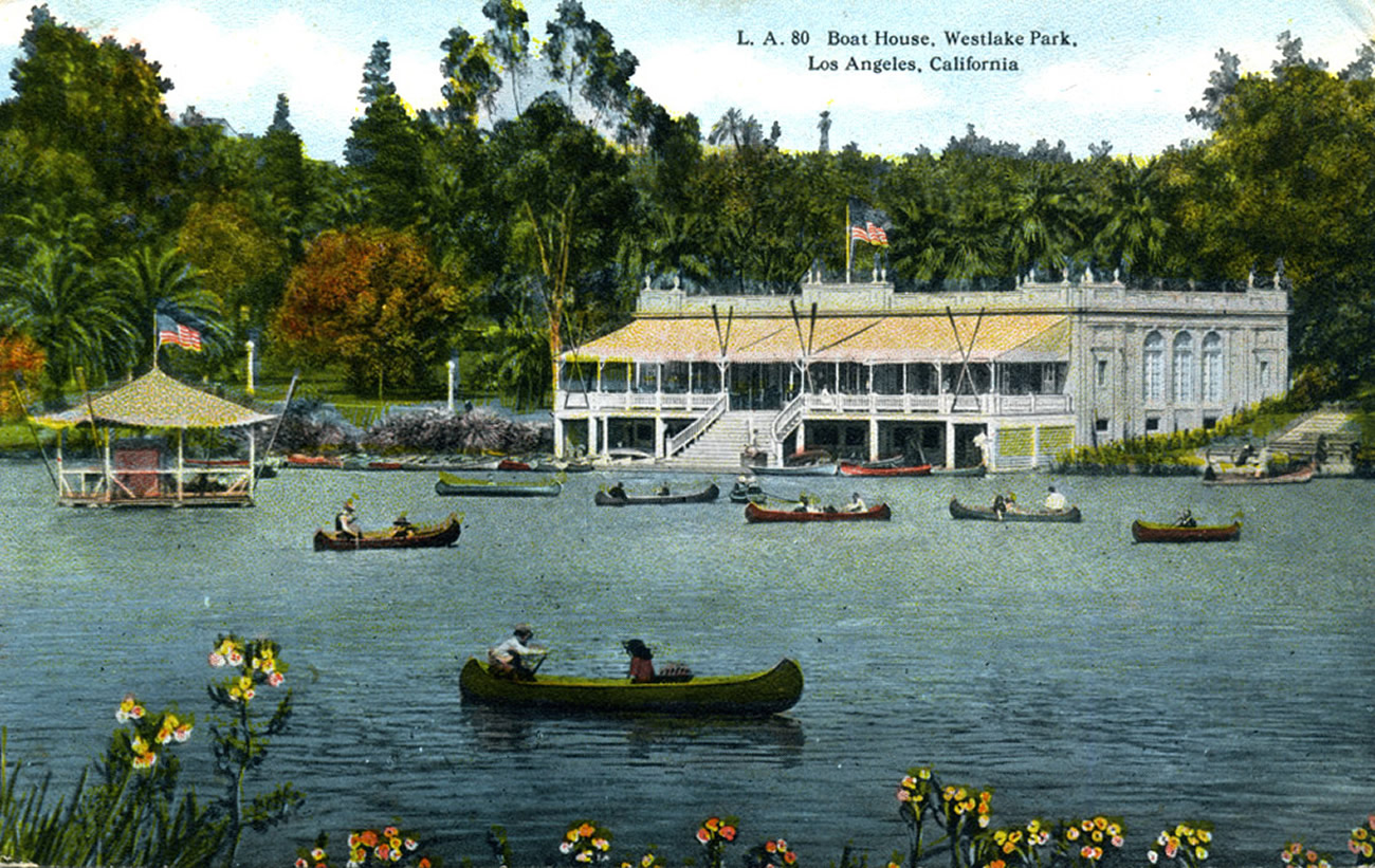 Boat House, Westlake Park, Los Angeles