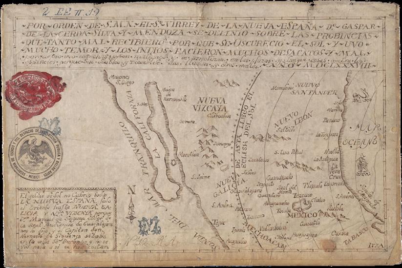 New Spain in 1688