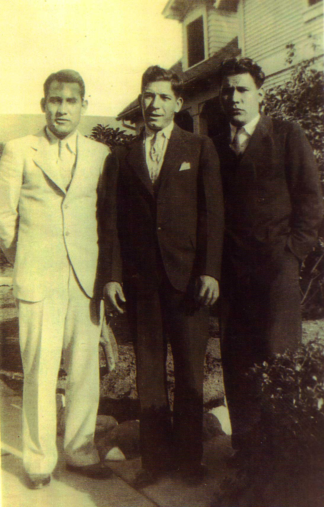 Gonzalo Luján, Peter Anthony Stoltz and Robert Paiz