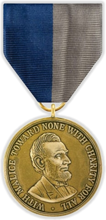The Civil War Campaign Medal is considered the first campaign service medal of the United States military. The decoration was awarded to members of the United States military and Confederate military who had served in the American Civil War between 1861 and 1865. The medal was first authorized in 1905 for the fortieth anniversary of the Civil War's conclusion.