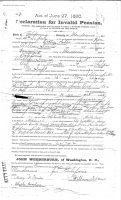 William Ivans pension document 2a