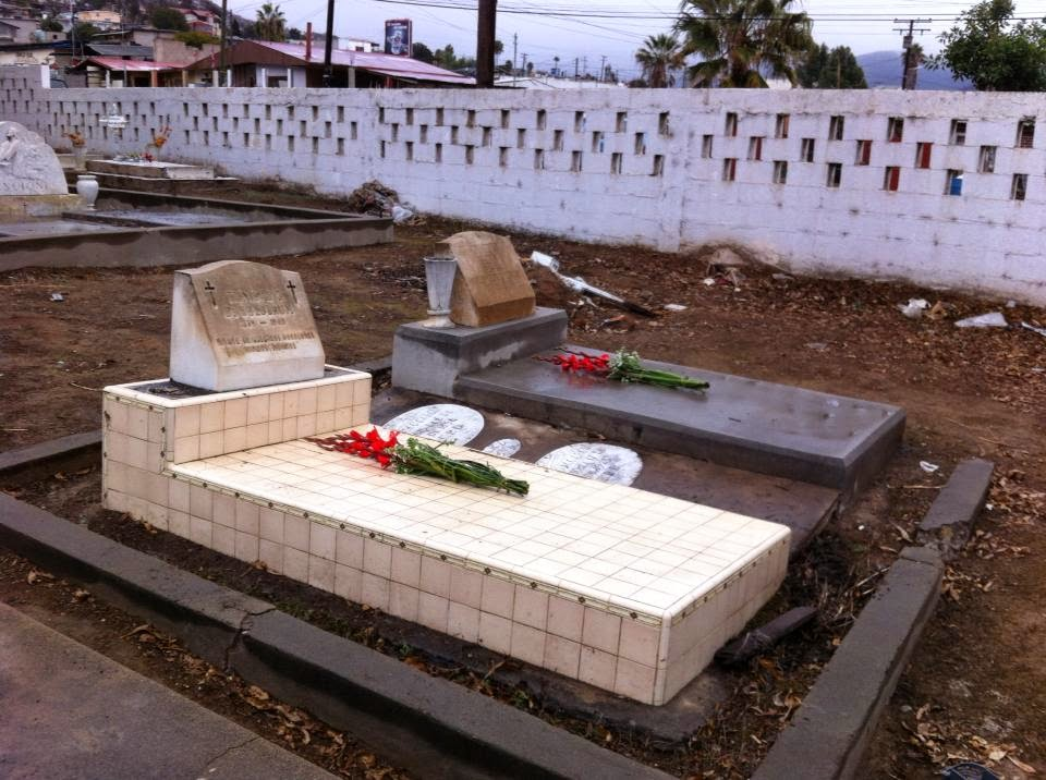 Graves of Victor Federico Goldbaum and María Trinidad García de Goldbaum