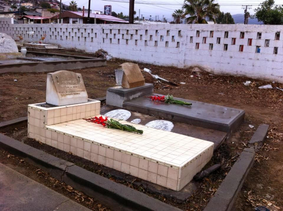 Graves of Victor Federico Goldbaum and María Trinidad García de Goldbaum