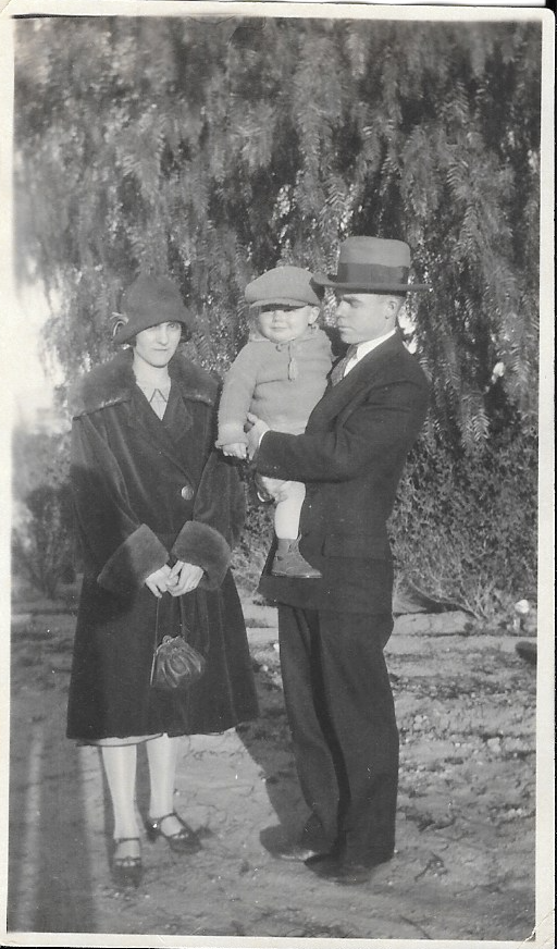 Cora, Robert Charles and Willard Vane Wood