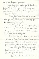 29 December 1922 Letter of Willard Wood to Love Donaldson