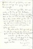 29 December 1922 Letter of Willard Wood to Love Donaldson