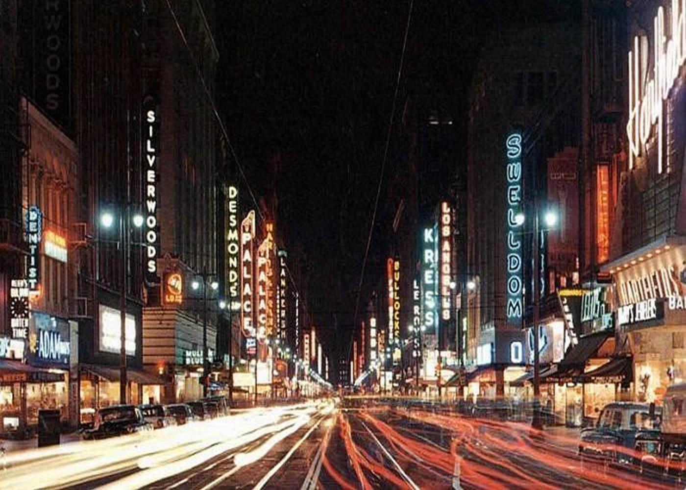 Broadway, Los Angeles 1959
