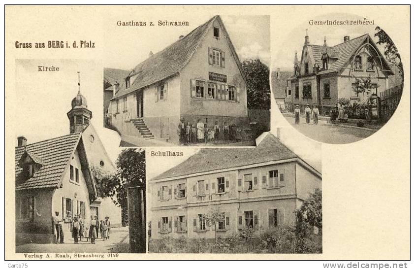 Berg postcard