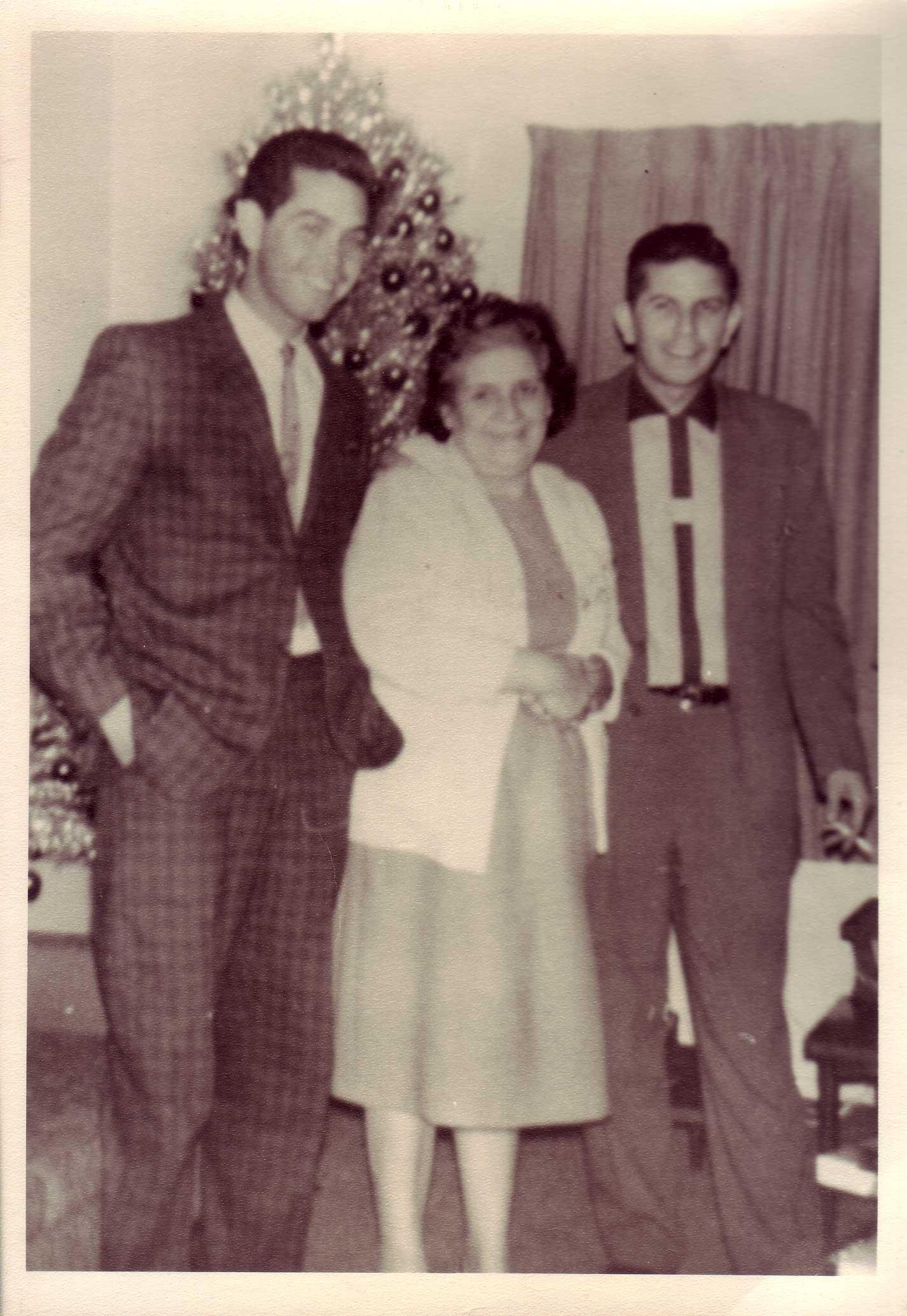 Albert, Consuelo and Louis Stoltz