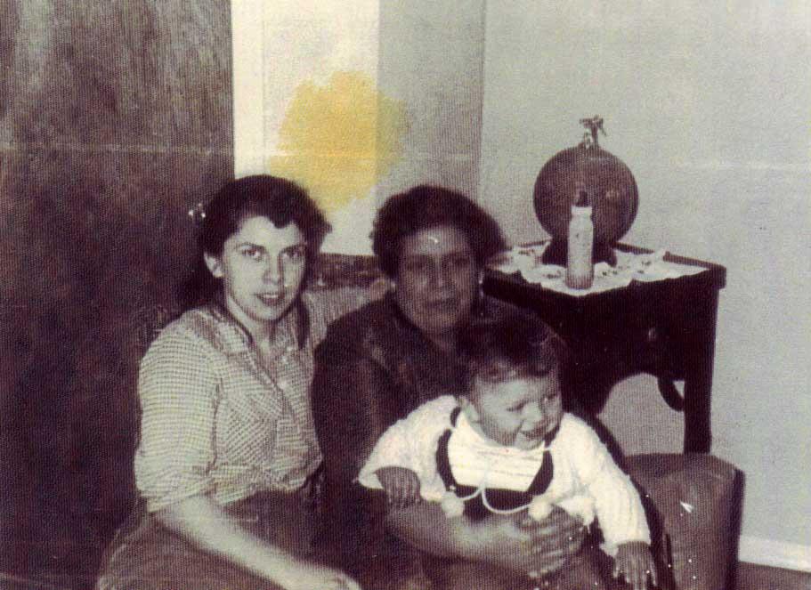 Eva (Nascimiento), Consuelo (Chavez) and Steve Stoltz