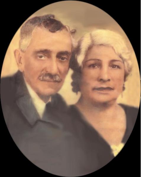 "Victor Federico ""Freddy"" (1862-?) and Trinidad (García) (1878-?) Goldbaum"