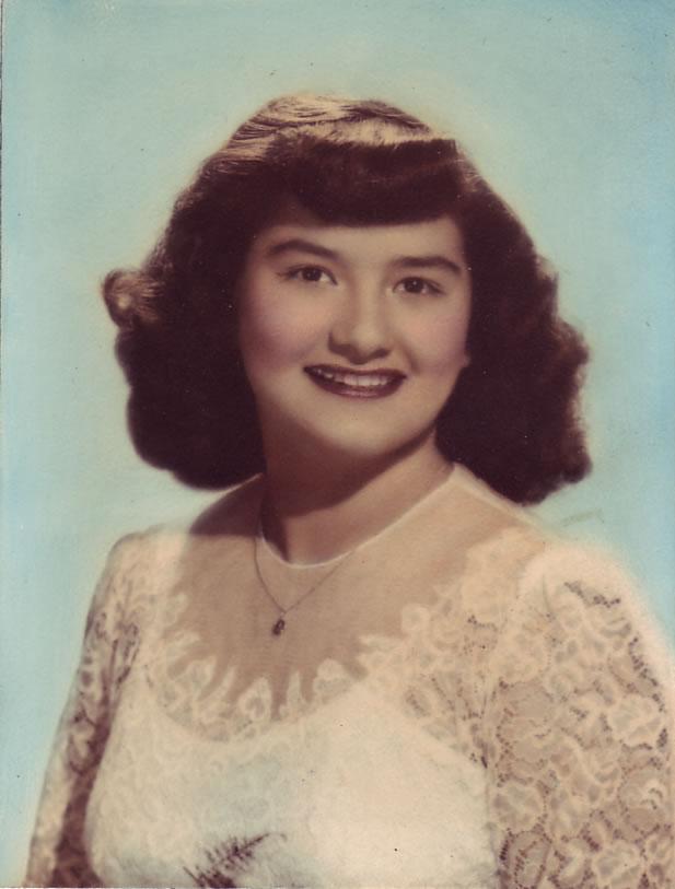Gloria Joyce Hernandez-Alvarado (1928-2011), 1948