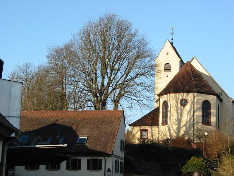 Rebuilt Church of St. Bartholomew in Berg, Pfalz