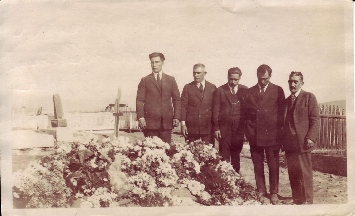 Funeral of Rosario (Moraila) García (1854-1924) in Ensenada