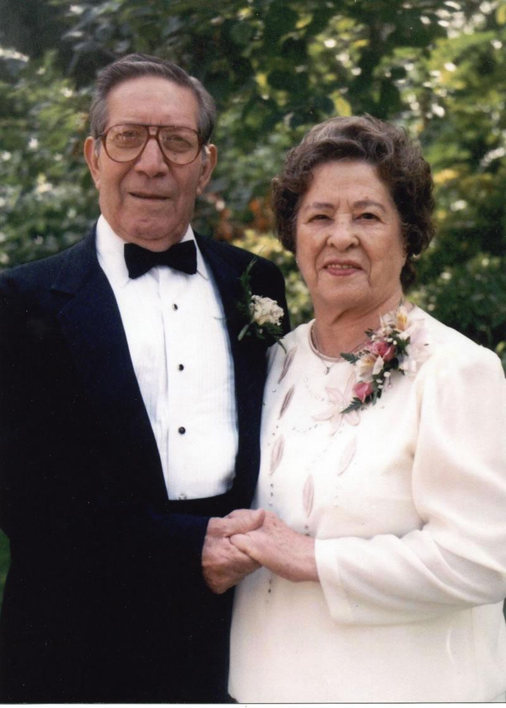 Alfred and Hortencia (Miramontes) Stoltz at daughter Debbie's Wedding