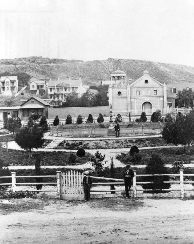 Plaza, Los Angeles, 1870