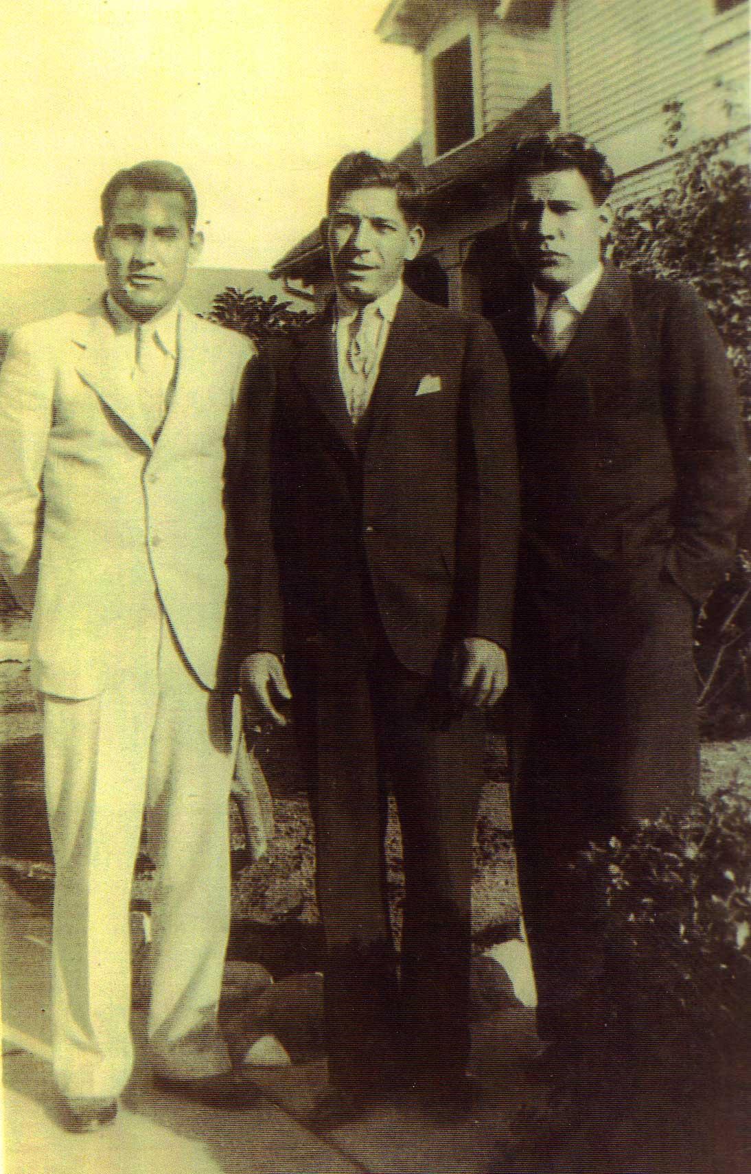 Gonzalo Luján, Peter Anthony Stoltz and Robert Paiz