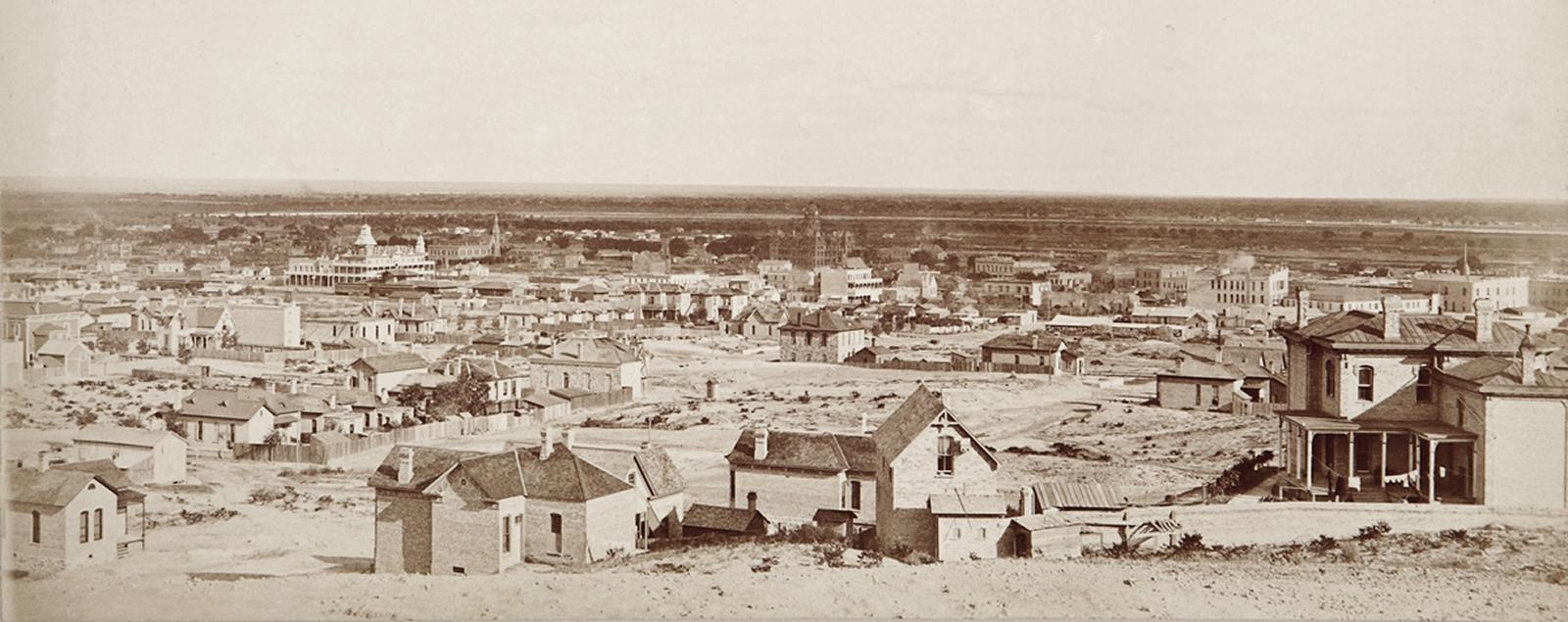 El Paso circa 1880