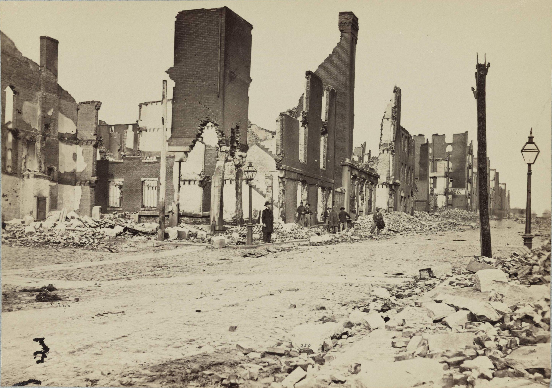 Richmond in ruins